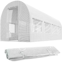 Folia zamiennik na tunel ogrodowy szklarnie 2 x 4,5 m z oknami 9 m2