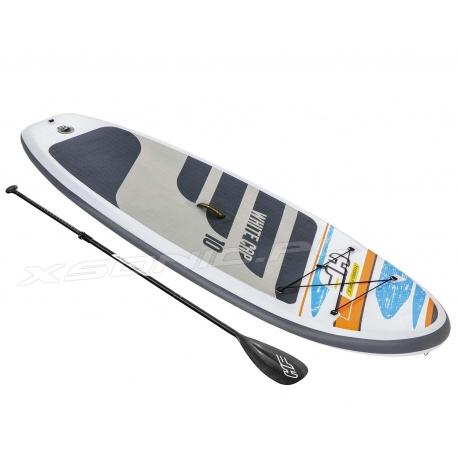 Deska Sup do pływania White Cap 305 x 84 x 12 cm Bestway 65342 Stand Up Paddle Board
