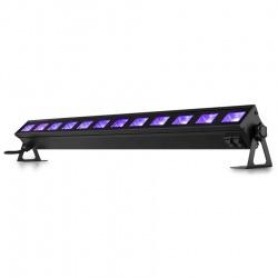 Belka ultrafiolet LED BAR UV 12x 3W BeamZ BUVW123 oświetlenie ściany