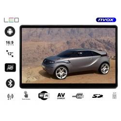 Monitor samochodowy na zagłówek 12 cali Full HD tablet Android na pręty zagłówka WiFi SD FM
