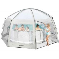 Namiot do basenów ogrodowych i SPA jacuzzi 6 x 6 x 2,95m Bestway 58612