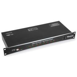 Sterownik oświetlenia splitter DMX dzielący sygnał BeamZ Booster 8-kanałowy
