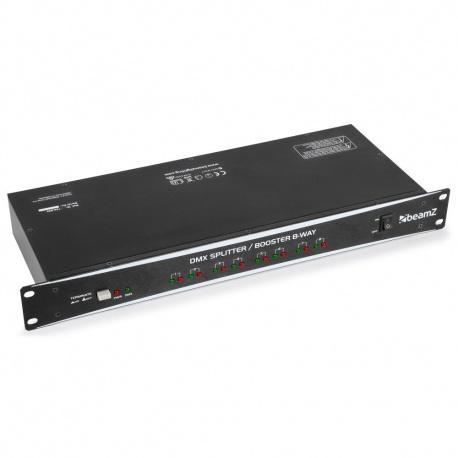 Sterownik oświetlenia splitter DMX dzielący sygnałBeamZ Booster 8-kanałowy