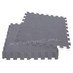 Puzzle pod basen 8 sztuk 50 x 50 cm Intex 29084 mata piankowa szara