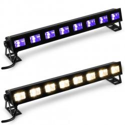 Belka ultrafiolet LED BAR UV 8x 3W BeamZ White 8 x 3W BUVW83 oświetlenie