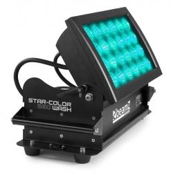 Oświetlacz LED do architektury WASH 24x 15W RGBA IP66 BeamZ Star-Color 360