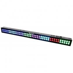 Belka oświetleniowa kolorowe światło LED BAR BeamZ LCB803 pilot