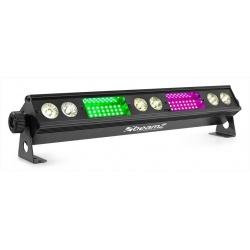 Belka oświetleniowa LED BAR BeamZ LSB340 białe 6x3W SMD 54 x RGB
