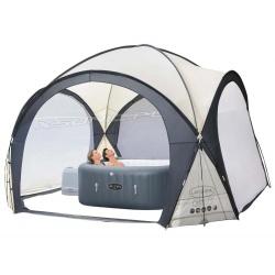 Namiot do SPA jacuzzi 390 x 390 x 255cm zadaszenie kopuła Bestway 60305 altana