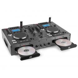 Podwójny odtwarzacz CD MP3 2 x USB oraz Bluetooth mikser Vonyx CDJ450