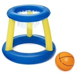 Koszykówka basenowa pływający kosz dmuchana piłka Bestway 52418