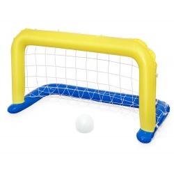 Pływająca bramka basenowa i piłka do grania w wodzie 142 x 76 cm Bestawy 52123
