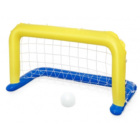 Pływająca bramka basenowa i piłka do grania w wodzie 137 x 66 cm