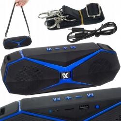 Głośnik z Bluetooth bezprzewodowy boombox RADIO FM TF SD przenośny