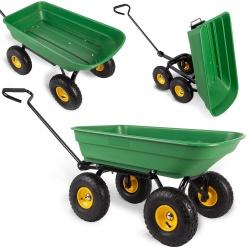 Wózek ogrodowy taczka ogrodowa wywrotka do prac domowych 52 litry