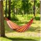 Hamak ogrodowy bujak 200 x 100 cm jednoosobowy tkanina Malagas