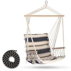 Krzesło wiszące brazylijskie huśtawka do ogrodu pokoju na taras Logos