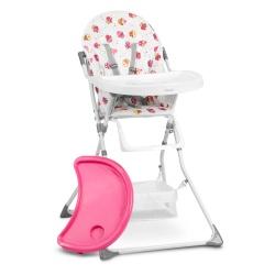 Krzesełko do karmienia Eldo stolik dla dzieci 6 - 36 miesięcy koszyk 3 kolory