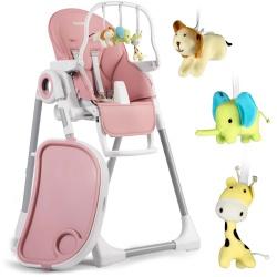 Krzesełko do karmienia stoliki dla dzieci Belo leżaczek pałąk z zabawkami