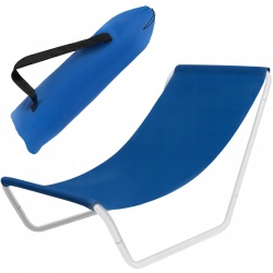 Leżak plażowy turystyczny basenowy składany fotel do opalania się torba