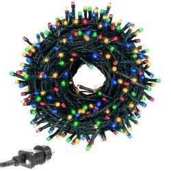 Lampki choinkowe 200 LED dekoracyjne na choinkę na 31V zewnętrzne 8 programów