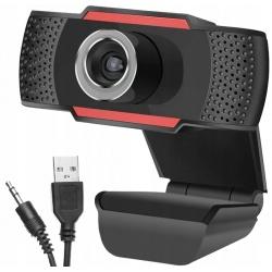 Kamerka internetowa kamera PC do lekcji rozmów z mikrofonem WEBCAM HD