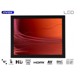 Monitor do zabudowy dotykowy ekran OPEN FRAME 10 cali VGA HDMI do reklam