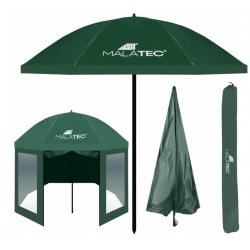 Parasol wędkarski 2,4m osłona wodoodporny namiot łamany zielony składany