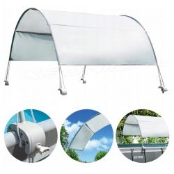 Zadaszenie do basenu baldachim daszek przeciwsłoneczny łuk Intex 28054