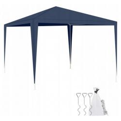 Pawilon ogrodowy namiot 3x3 metry zadaszenie granatowy altana ogrodowa