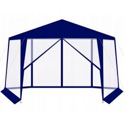 Pawilon ogrodowy namiot z moskitierą 6 ścian otwierany na suwak 2 kolory