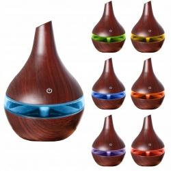 Nawilżacz powietrza dyfuzor zapachowy aromaterapii 300ml USB 2 kolory
