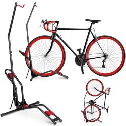 Stojak rowerowy serwisowy wieszak na rower stal do 30kg pionowy i poziomy