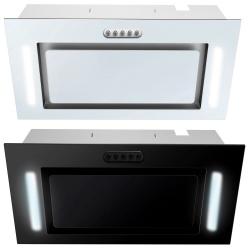 Okap kuchenny podszafkowy 52cm do zabudowy Berdsen czany biały z oświetleniem