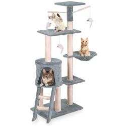 Domek legowisko drapak dla kota wysokość 71 cm platformy domek myszka