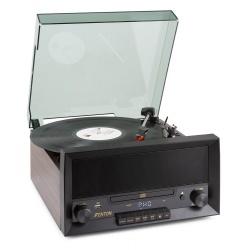 Gramofon z funkcją nagrywania RP135W FENTON CD AUX BT USB radio FM