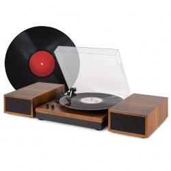 Gramofon z głośnikami RP165 zestaw stereo Bluetooth RCA bardzo ustawny