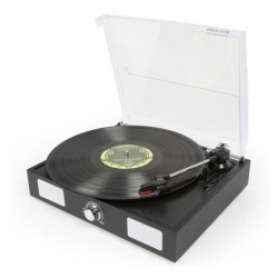 Gramofon Fenton RP108B funkcja RIP głośniki czarna obudowa USB