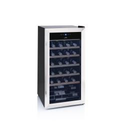 Chłodziarka do wina ETA winiarka na 28 butelek zakres temperatury 5 do 18°C