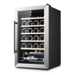 Chłodziarka do wina ETA winiarka na 24 butelek zakres temperatury 5 do 18°C