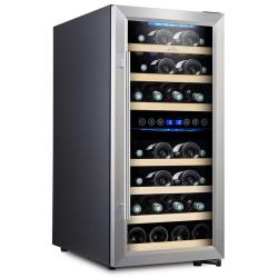 Chłodziarka do wina ETA winiarka na 33 butelki zakres temperatury 5 do 18°C