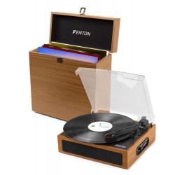 Gramofon Fenton RP170 z Bluetooth etui case na płyty winylowe wyjście RCA