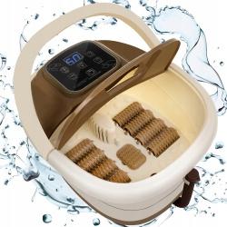 Masażer do stóp wodny naświetlanie podczerwienią kąpiel bąbelkowa wibracje