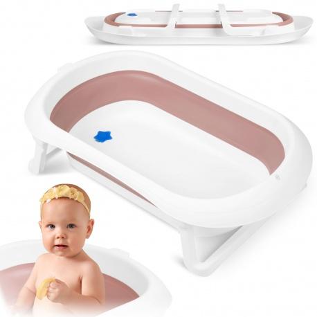 Wanienka dla dziecka turystyczna składana silikonowa dla dzieci od 0+ do 6 lat