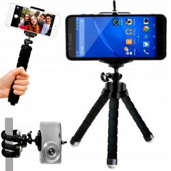 Elastyczny statyw uchwyt na telefon smartfon aparat kamerą TRIPOD