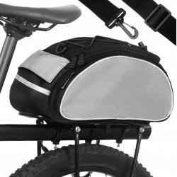 Torba na ramię rower sakwa rowerowa na bagażnik kufer schowki zamek