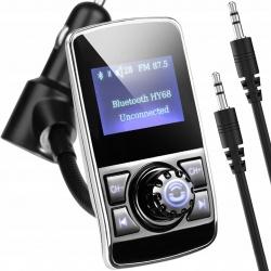 Transmiter samochodowy FM Bluetooth MP3 karty SD ładowarka 2xUSB LCD