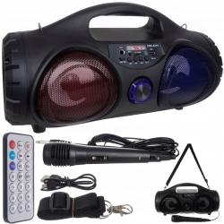 Głośnik bezprzewodowy Bluetooth tuba Boombox radio FM MP3 USB TF