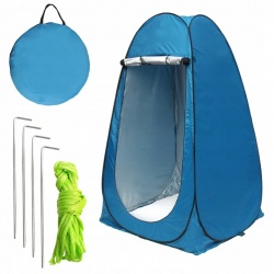 Namiot pionowy przebieralnia mobilna plażowy prysznic toaleta WC chowek