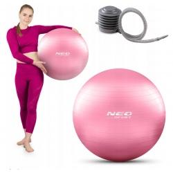 Piłka gimnastyczna 55 cm do ćwiczeń rehabilitacyjna z pompką w zestawie